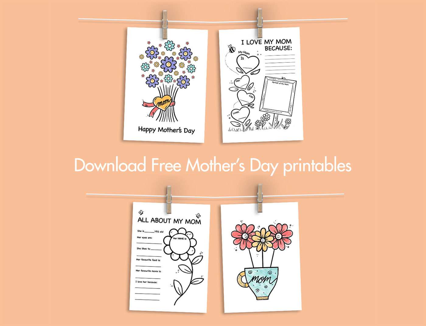 Free Mothers Day Printables